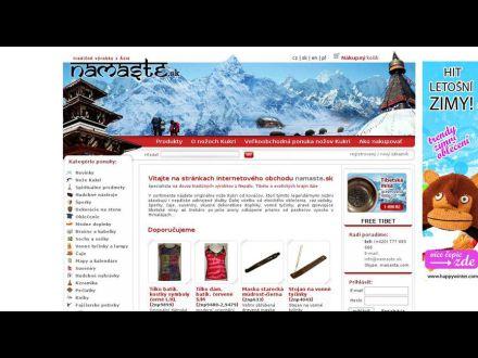 www.namaste.sk