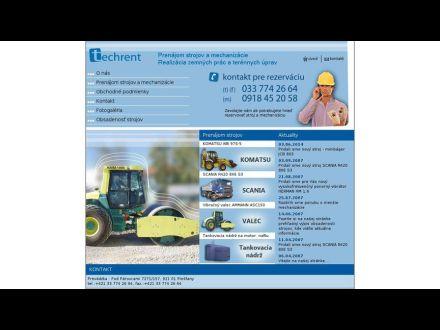 www.techrent.sk