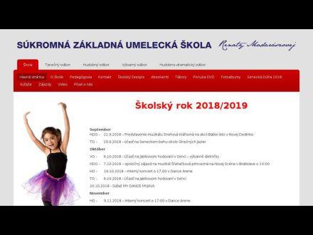 Súkromná základná umelecká škola Renáty Madarászovej d3a5f4409a1