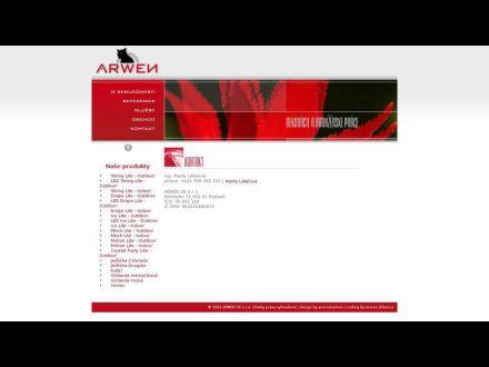www.arwen.sk