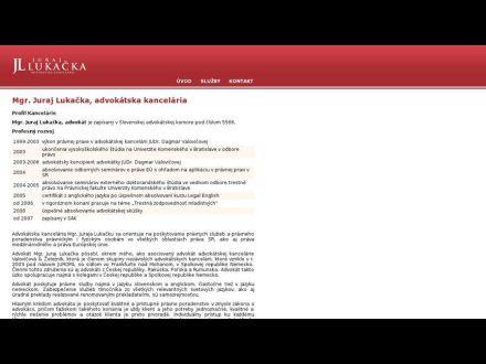 www.lukacka.sk