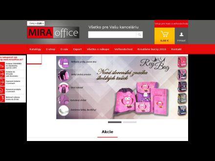 www.miraoffice.sk
