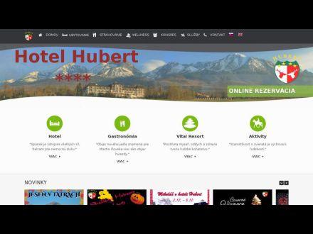 www.hotel-hubert.sk