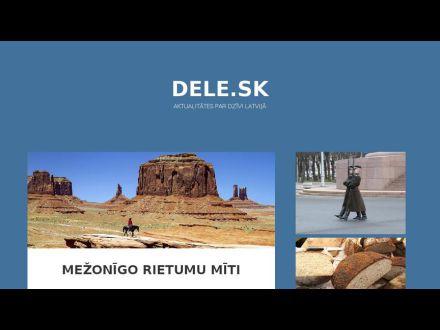 www.dele.sk