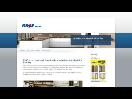 www.kraf.sk