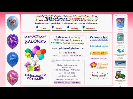 www.globos.cz
