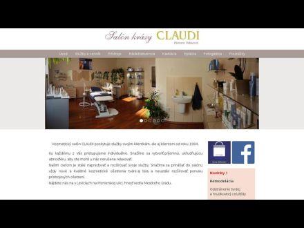 www.salonclaudi.sk