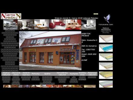 www.nabytokpriskin.sk