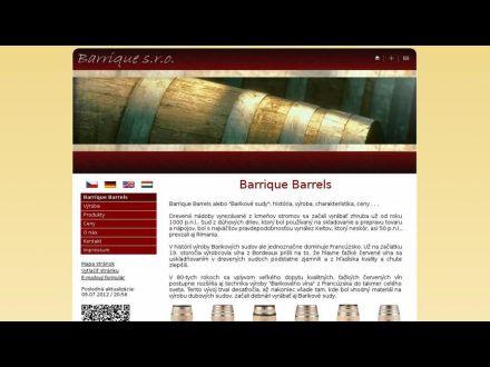 www.barrique-sro.sk