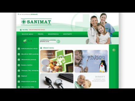 www.sanimat.sk