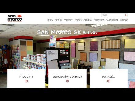 www.sanmarco.sk