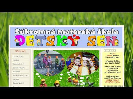 www.detsky-sen.sk