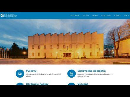 www.galerialm.sk