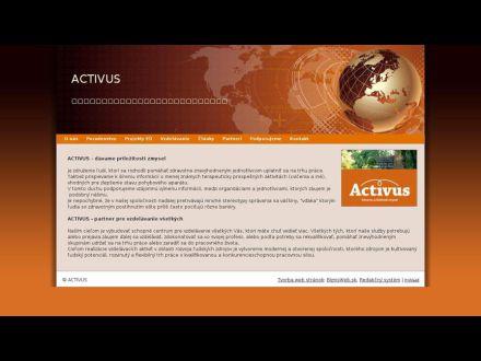 www.activus.sk