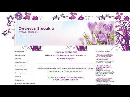 www.deeksha.sk