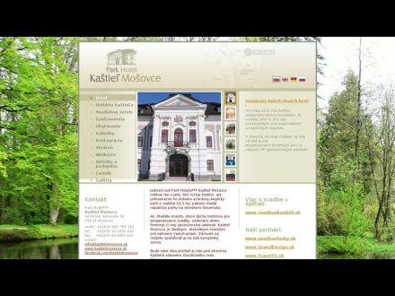 www.kastielmosovce.sk