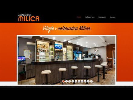www.restauraciamilica.sk