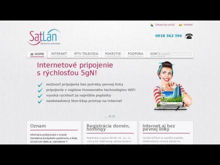 www.satlan.sk