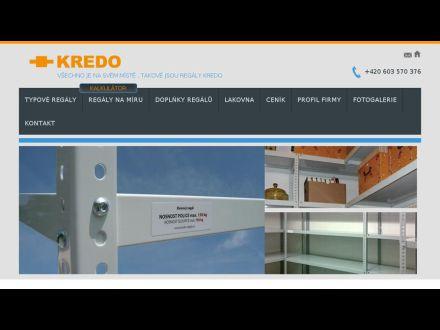 www.kredo-regaly.cz
