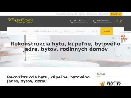 www.chytrostav.sk