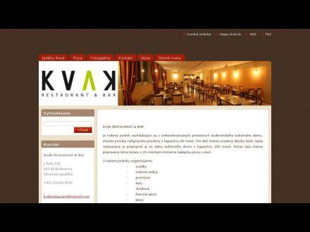 www.kvakrestaurant.webnode.sk
