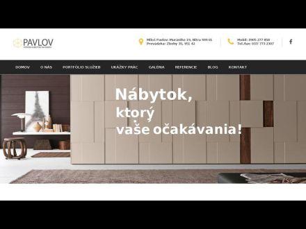 www.nabytok-pavlov.sk