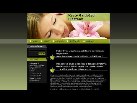 www.kvetygajdosech.webnode.sk