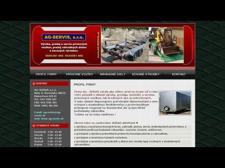 www.ag-servis.sk