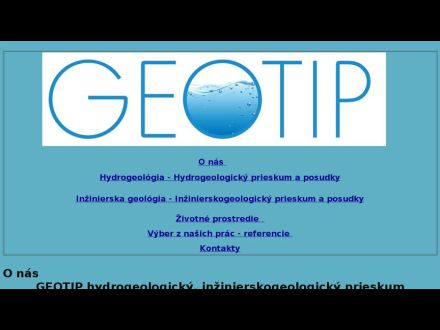www.geotip.sk
