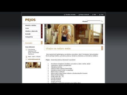www.pejos.webnode.sk