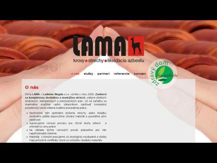 www.lama-strechy.sk/
