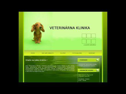www.veterinarnaklinikamt.sk