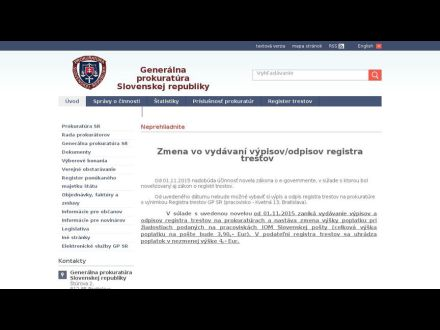 www.genpro.gov.sk