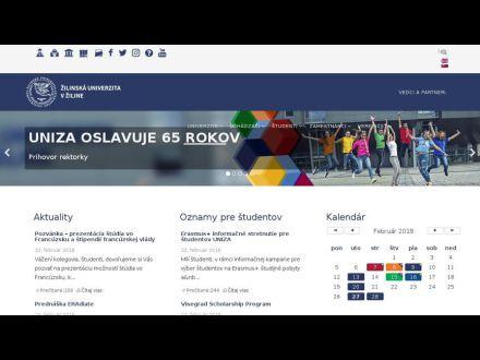 www.uniza.sk