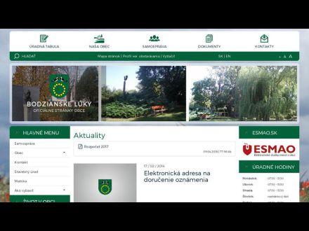 www.bodzianskeluky.ocu.sk/index.php