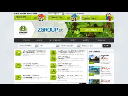 www.zgroup.sk