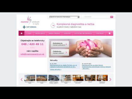 www.mammacentrum.sk
