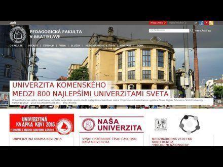 www.fedu.uniba.sk