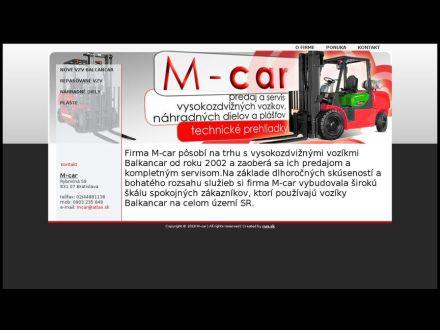 www.mcar.sk