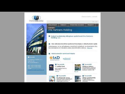 www.propartnersholding.sk