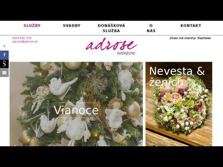 www.adrose.sk