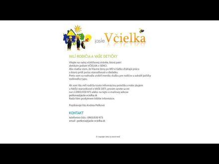 www.jasle-vcielka.sk