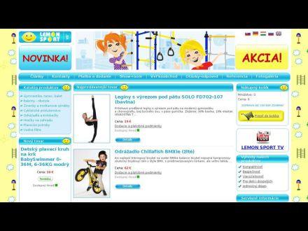 www.lemonsport.sk