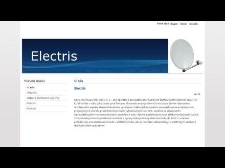 www.electris.sk
