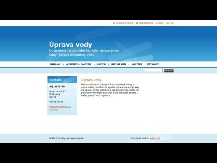 www.upravavod.sk