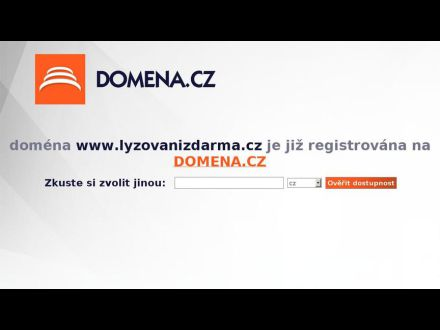 www.lyzovanizdarma.cz