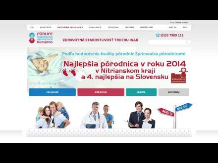 www.nemocnicakomarno.sk