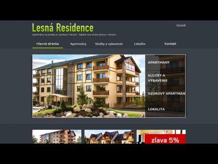www.apartmany-lesna.sk