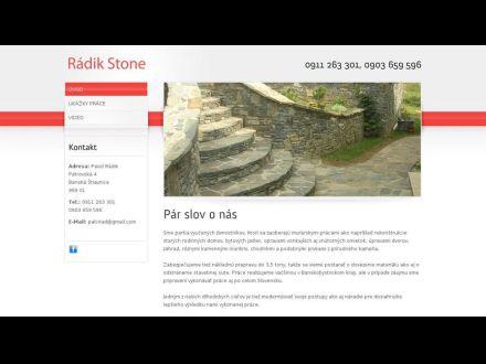 www.radikstone.sk