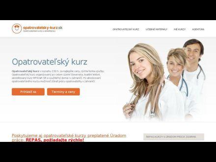 www.opatrovatelsky-kurz.sk